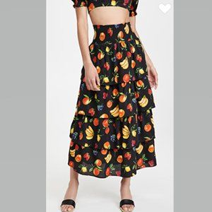 WeWoreWhat Paloma Skirt MIDI Length